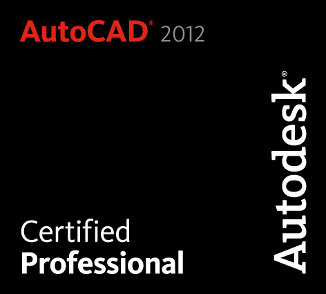 AutoCAD 2012 Certified Professional RGB
